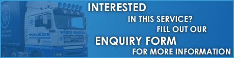 Interested in this service? Fill out our enquiry form for more information